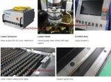 Corte del laser de la fibra del carbón de la hoja de metal del CNC/del acero inoxidable/precio de la máquina del cortador