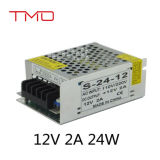 Bloc d'alimentation 110-220V, bloc d'alimentation de commutation de mode de commutateur de 12V 5V 2A 24W