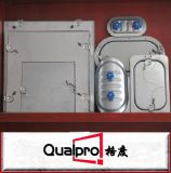 Portello di accesso piano per il condotto rotondo AP7410