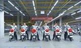 A motocicleta 1200W elétrica poderosa a mais atrasada de Deisgn