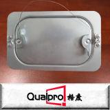 직류 전기를 통한 강철 둥근 덕트 점검창 AP7460