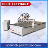 Ele-1836中国CNCのフライス盤の工場からのマルチスピンドル3D木製CNCのルーター