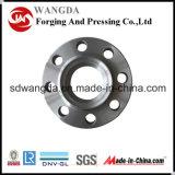 Fabrication d'alimentation de la soudure en acier au carbone DIN ANSI cou forgé de bride de raccords de tuyaux
