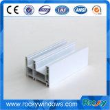 Профили профиля UPVC PVC пластичного материала для профиля Windows UPVC Casement раздвижных дверей