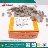 Segmento das lâminas da ferramenta do diamante multi para a estaca de mármore