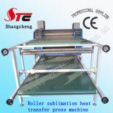 Aprovado pela CE Rolete Digital Sublimação prensa de calor calor de tamanho grande rolo de máquina rotativa de sublimação de imprensa