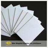 Color blanco de 18mm de la junta de espuma de Celuka PVC