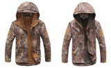 Людей камуфлирования армии высокого качества функции доказательства воды фабрики куртка напольных Windproof костюма