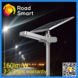 30W 40W 50W integrado 2017 LED lámpara de la calle de la energía solar