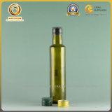 Бутылка пищевого масла круглой формы 250ml стеклянная (101)