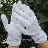 Перчатки 100% водителя хлопка белизны Bleach