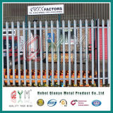 Belo Jardim de metal de Vedações / Corrimão de estacionamento paliçada empurrador de Jardim