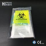 Sachets en plastique médicaux de joint d'individu de transport du spécimen Ht-0615