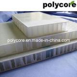 La rigidez de paneles sándwich de nido de abeja de fibra de vidrio
