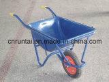 Carriola pneumatica di modello del cassetto del metallo della Corea e della rotella del blocco per grafici (Wb2204)
