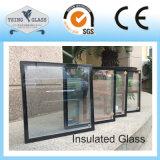 Tempered стекло окна двойной застеклять изолированное ненесущей стеной
