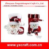 Tendência ideal do Natal do carregador do Natal da decoração do Natal (ZY15Y098-1-2)