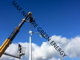 Turbine-automatisches Schwanken des Wind-10kw, mit Windgeschwindigkeit des Überlebens-50m/S
