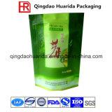 Мешок изготовленный на заказ кофеего чая свободно образца логоса гибкого упаковывая