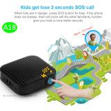 Mini-Tracker GPS avec le GPS+Lbs le positionnement et bouton SOS (A18)