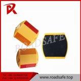 安全二重反射黄色灯の円形のプラスチック道のマーカーの反射鏡
