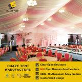 Deutsche Hochzeits-Zelte mit Glaswänden für Luxuxhochzeiten (hy017g)