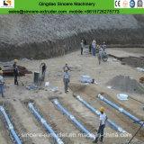 Труба PP Geocomposite Dreinage PE пористые/машина/линия штрангпресса листа