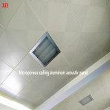 Le trou du panneau de plafond décoratifs en aluminium panneau de toiture plafond