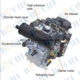 De luchtgekoelde Kleine Mariene Dieselmotor van 4 Slag
