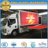 5 vehículo colorido de la publicidad de pantalla de T P10 LED con la etapa de la promoción