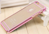 Nuovo laser Etching Argomento Cover del PC di Gold per il iPhone del Apple 6 4.7 Caso