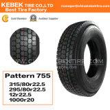 Pneus radiais de excelente qualidade 12R22.5 para pneus de caminhão / borracha para caminhão / pneus para caminhões pesados para venda