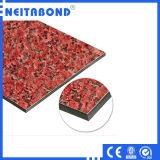 Decoração Material Marble Texture Aluminum Composite Panel ACP para Exterior Facade