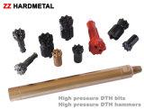 Morceaux de marteau de DTH, outils à pastilles de DTH, morceau Drilling de DTH