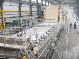 Máquina de la fabricación de papel de tejido de 3200 Fourdinier para el papel higiénico