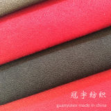 Super weiches kurzes Haar-Veloursleder-Polyester 100% für Sofa