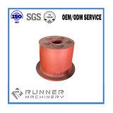 CNC che lavora CNC alla macchina anodizzato dell'alluminio che macina le parti di giro della vite di CNC