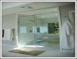 8-12mmからの明確なシャワー室強くされたガラス