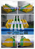 De commerciële Openlucht Opblaasbare Dia van het Water met Zwembad (mic-093