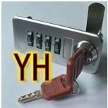 En alliage de zinc le verrou de combinaison de moulage mécanique sous pression (Yh08)