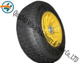 Nicht-Pneumatisches Schaumgummi-Rad des Polyurethan-16*6.50-8 mit Speiche-Felge