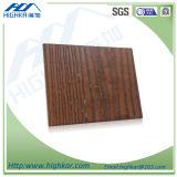 Серия зерна Доск-Древесины цемента волокна, высокое качество усилила декоративную доску стены