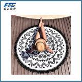 Новых женщин Летом большие Богемии раунда пляж полотенце одеяло Bat