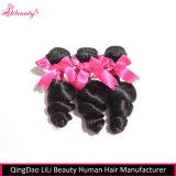 7Un grade 100 % de cheveux humains malaisien lâche les faisceaux de cheveux d'onde