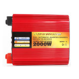Solar Power Inverter del color rojo de DC / AC 300W-3000W