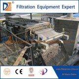Prensa 2017 de filtro de la correa de Dazhang con el sistema del espesamiento del tambor (acero de carbón del acero inoxidable)