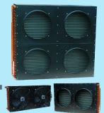 Condensateur de chambre froide de tube de Copepr de prix bas (5HP/7.5HP/10HP)