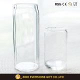ガラスコーラのコップは飲むことのための2つをセットした
