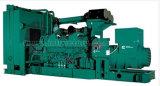 Ce/CIQ/Soncap/ISOの承認のCummins Engine Kta50-GS8が付いている1500kVA無声ディーゼル発電機