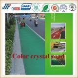 Cn-C06 Verschleißfestigkeit und Uvioresistant Farben-Kristallstraßen-Bodenbelag